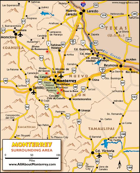 map of monterrey mexico monterrey maps maps of monterrey mexico