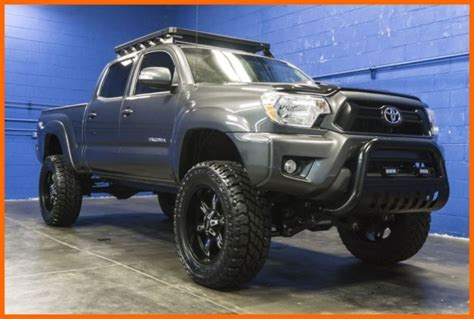 Roof Rack Toyota Tacoma Cab by 2013 Toyota Tacoma Trd Sport 4x4 4l V6 Lifted Crew Cab