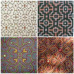 shipibo textile patterns