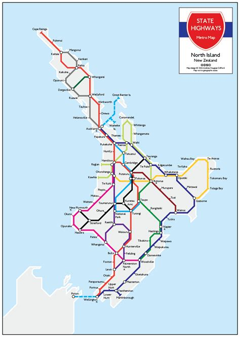 map new map new zealand state highway metro map prints for sale