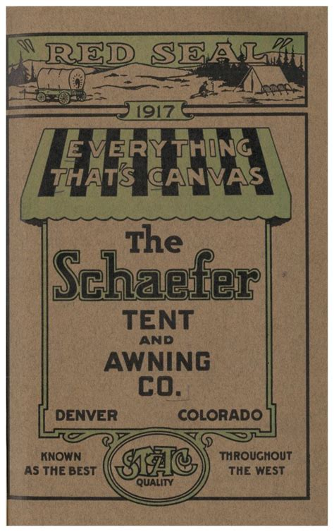 denver tent and awning the comforts of cing smithsonian libraries unbound smithsonian libraries unbound