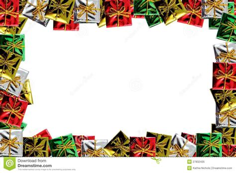 images of christmas packages christmas package frame royalty free stock photo image