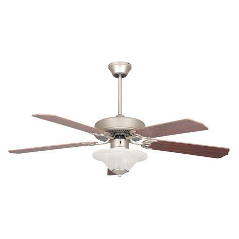 high tech ceiling fan radionic hi tech nevaeh 52 in satin nickel ceiling fan