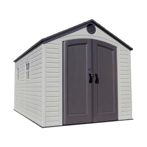 lifetime  ft   ft storage shed   home depot