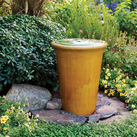 fountain for backyard great garden fountain ideas sunset