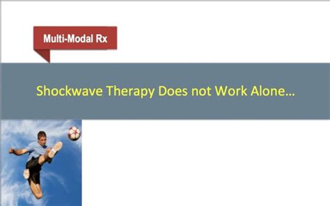 a for therapy work shockwave therapy shockwave therapy does not work alone osteopath edinburgh