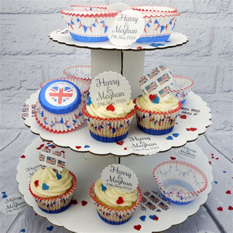 Wedding Cake Kit by Harry And Meghan Royal Wedding Cupcake Kit