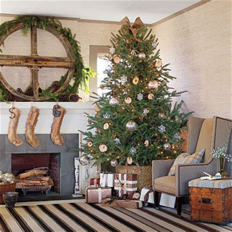 Rustic Christmas Decor Southern Living | get the look rustic casual christmas decorating ideas