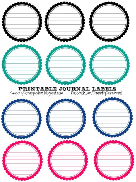 printable circle tags free printable scalloped circle labels by sweetlyscrapped