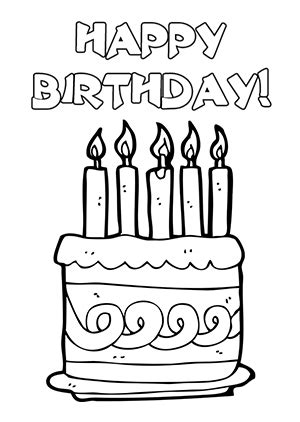 coloring pages of cake boss clip art ladybird cake ideas cool and funny printable happy birthday card and clip art