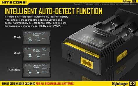 Charger Baterai 26650 2 Slot Nk 926 new 2016 nitecore d2 battery charger digicharger for 18650 14500 18350 aa aaa ebay