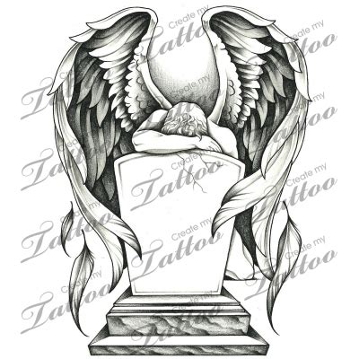 tombstone cross tattoos marketplace grieving and tombstone 15785