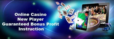 guarantee real profit  casino bonus cashback sites gem global extra money
