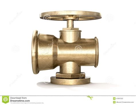 Plumbing Shut Valves by Brass Plumbing Shut Valve Stock Photo Image 41897022