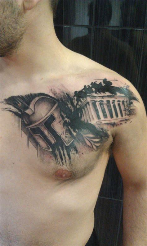 spartan tattoos pin spartan warriors hoplites the iliad trojan