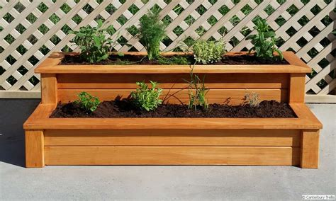herb planter box christchurch canterbury trellis quality trellis