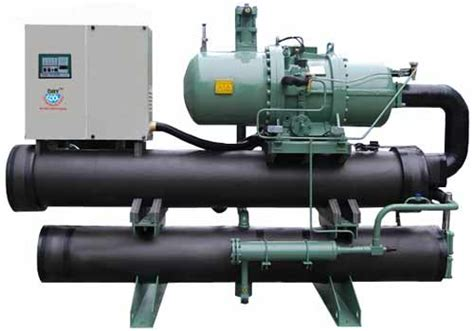 screw chillers water cooled screw chiller single