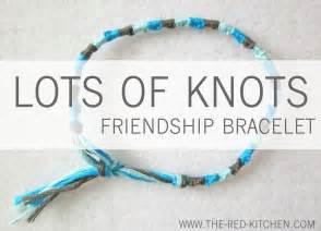 Lots of knots friendship bracelet a tutorial in 6 easy steps