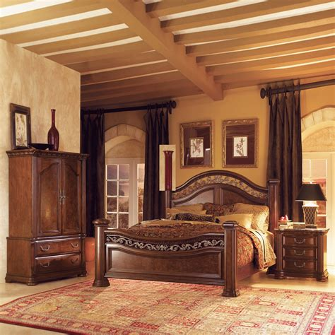 bedroom set with armoire wynwood granada mansion armoire bedroom set atg stores