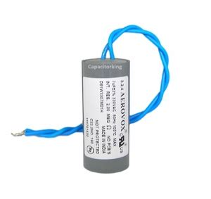 average capacitor lifespan aerovox lighting capacitor 7uf 330 volt high pressure sodium d81w3307m 4404 p