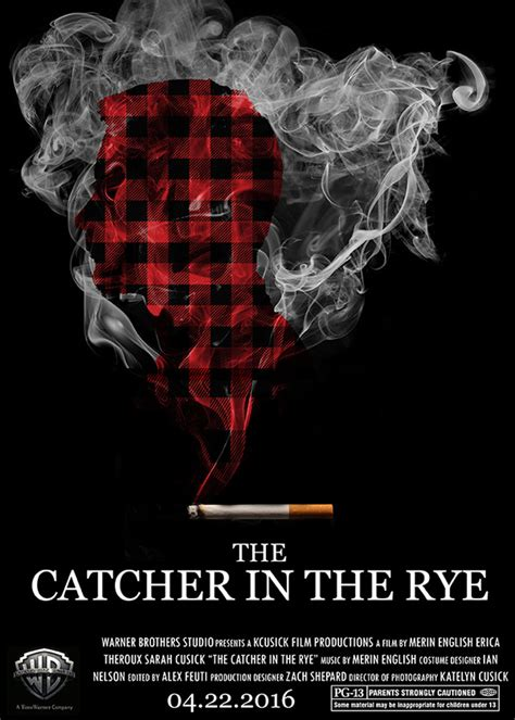 catcher in the rye theme project movie poster project the catcher in the rye on behance