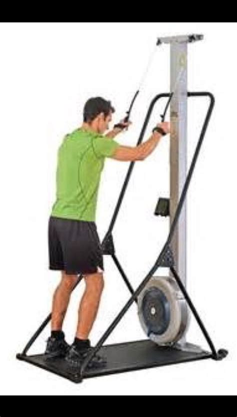 concept  ski erg crossfit full body met  craigs fitness skiing workout workout