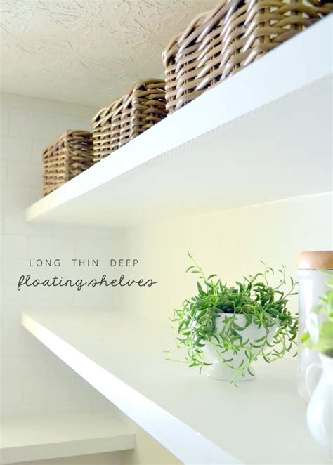 One Room Deep House Plans by Finally How To Create Long Deep Shelves That Aren T Bulky