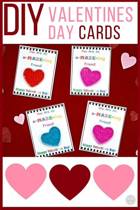 valentines day bj diy s day cards for with free printable