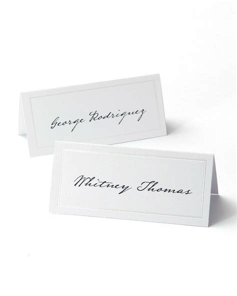 Gartner Studios Place Cards Template 83001 by White Pearl Border Printable Place Cards