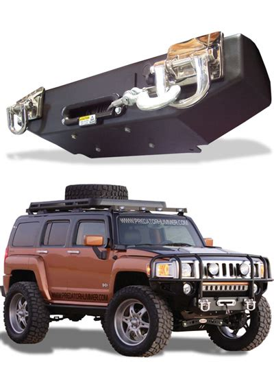 hummer parts predator hummer h3 h3t winch system hummer parts club
