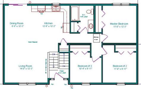 Basement Entry House Plans by Split Entry Split Foyer Bi Level Raised Rambler Raised