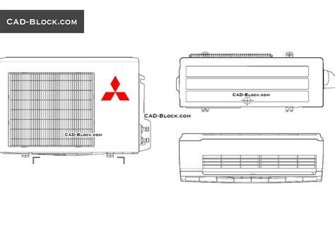 block diagram of air conditioner diode sign