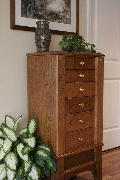 cherry jewelry armoire finewoodworking