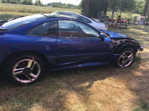 manual cars for sale 1993 dodge stealth on board diagnostic system 1993 dodge stealth rt a beautiful blue and 199 parts car one price 2 cars for sale dodge