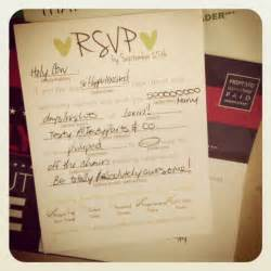 how to fill out rsvp card for wedding diy polaroid invitations weddingbee photo gallery