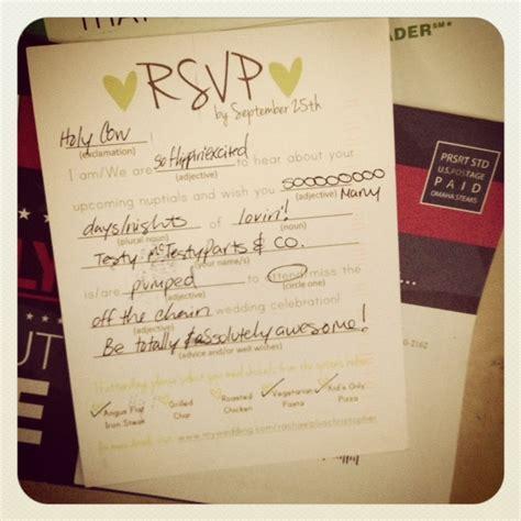 how do you fill out wedding response cards diy polaroid invitations weddingbee photo gallery