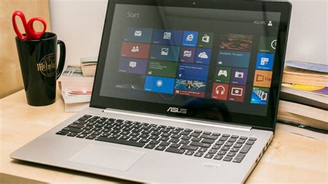 Laptop Asus Touch Screen Windows 8 asus vivobook s500ca review the big budget touch screen windows 8 laptop cnet