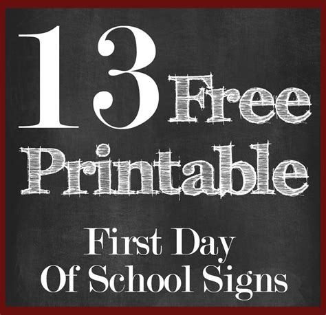 day of school sign template day of school printables free health symptoms and