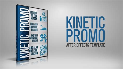 Kinetic Promo After Effects Template Bluefx After Effects Projects Youtube After Effects Karaoke Template