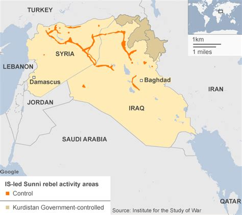 map of iraq and surrounding area news islamic state where key countries stand