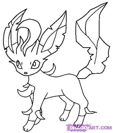 pokemon coloring pages of leafeon free coloring pages of pokemon vpokemon vaporeon