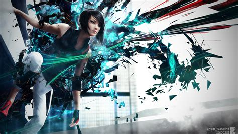 abstract mirrors edge faith connors video games