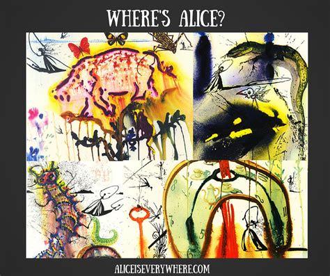 Salvador Dali Alice in Wonderland Is Under $20   Alice Is ...