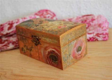 How To Decoupage Wooden Box - decoupage wooden boxes get crafty