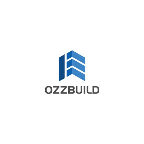 business logo design free uk serious modern construction company logo design for up