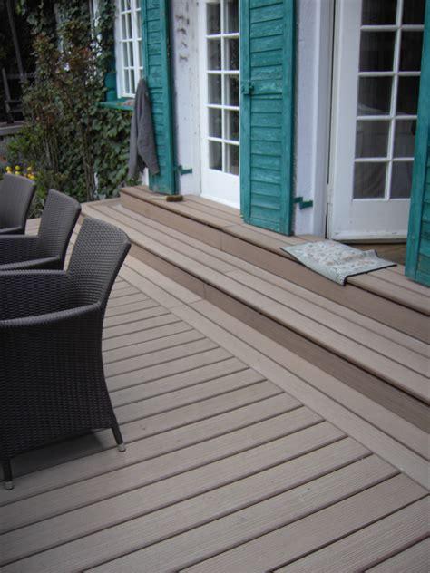 wpc treppenstufen wpc terrassen in verschiedenen farben bs holzdesign
