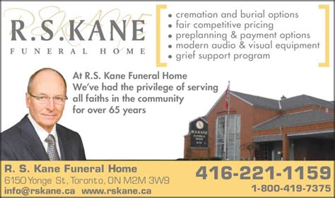 funeral homes with payment plans kane funeral home ltd opening hours 6150 yonge st