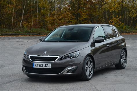 peugeot england peugeot 308 in surprise 2014 european car of the year win