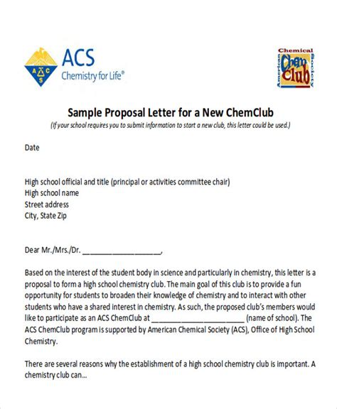 7 sle event proposal letters sle templates