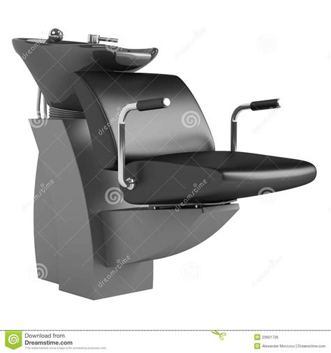 Hair Wash Chair by Black Hair Wash Chair Royalty Free Stock Image Image
